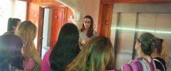 22 jóvenes CFGM «Cuidados auxiliares de enfermería» visitan la Residencia Fontsana
