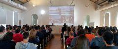 133 jóvenes de CFGS, CFGM, universitarios y CP de diferentes especialidades asisten a una presentación de Meliá Hotels International