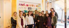 15 joves Estudis de Perruqueria visiten la Perruqueria Francisco