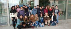 38 jóvenes de CFGS técnico de laboratorio visitan la Clínica Quirón PalmaPlanas