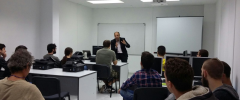 """11 joves CFGS: """"Administració de Sistemes Informàtics en Xarxa"""" visiten LSI S.A."""