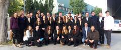 """34 joves CFGM: """"Serveis en Restauració i Cuina"""" visiten La Alacena de Mallorca – Catering"""