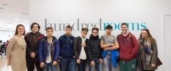 6 jóvenes Estudios de Formación Profesional Básica en Informática y Comunicaciones visitan Hundred Rooms