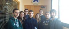 6 jóvenes CFGM Instalaciones Frigoríficas y de Climatización del IES Politécnico visitan Humiclima