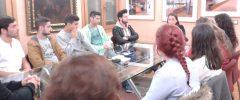 11 jóvenes CFGM Gestión Administrativa y su tutora Antonia Celià del I.E.S Son Pacs visitan la empresa Lafuente Abogados (negocio familiar desde 1947).