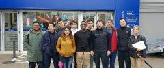 """7 jóvenes de """"Palma Chapa y Mecánica"""" de Garantía Juvenil de PalmaActiva visitan Norauto Cas Capiscol"""