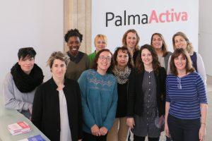 Joana Maria Adrover rep a les professionals que aquest mes impartiran totes les càpsules formatives de PalmaActiva