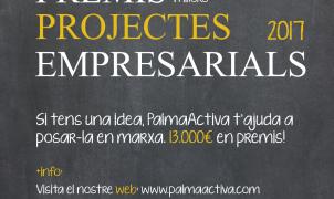 Els premis als millors projectes empresarials de PalmaActiva arriben a la seva XV edició
