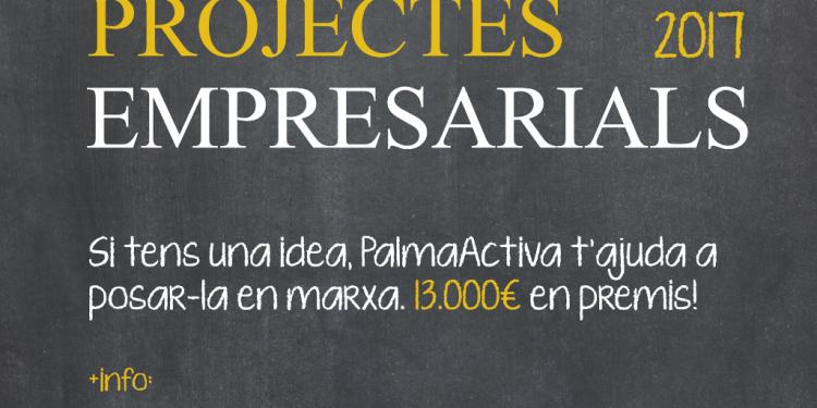 Los premios a los mejores proyectos empresariales de PalmaActiva llegan a su XV edición