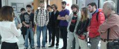10 joves del Grau de Filosofia de la Facultat de Filosofia i Lletres UIB han visitat l'empresa Diario de Mallorca.