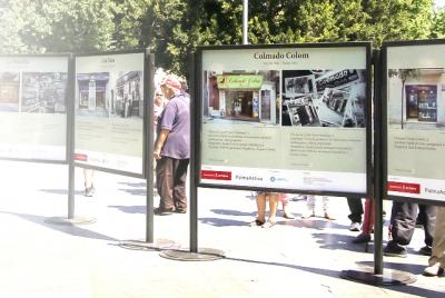La exposición fotográfica de establecimientos emblemáticos de Palma se traslada al barrio de Pere Garau el 26 de junio