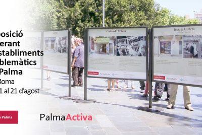 La exposición fotográfica de establecimientos emblemáticos de Palma se traslada a Via Roma