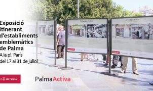 L'exposició fotogràfica d'establiments emblemàtics de Palma es trasllada a la barriada de Bons Aires