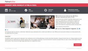A finales de octubre PalmaActiva activa un nuevo sistema de inscripción a cursos