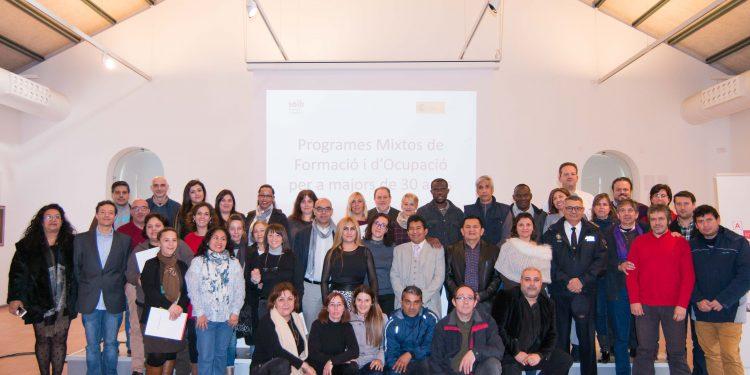 Clausura dels Projectes Mixtos d'Ocupació i Formació per a persones desocupades de 30 anys o més