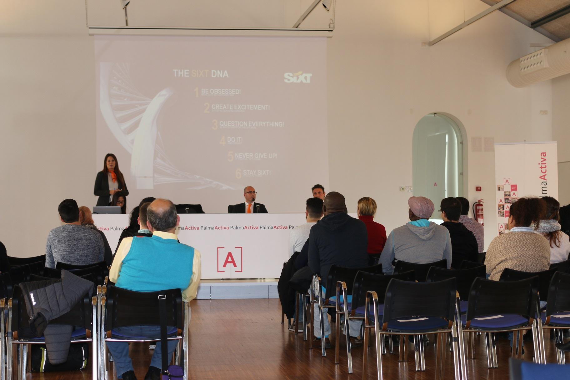 PalmaActiva selecciona personal per a l'empresa Sixt