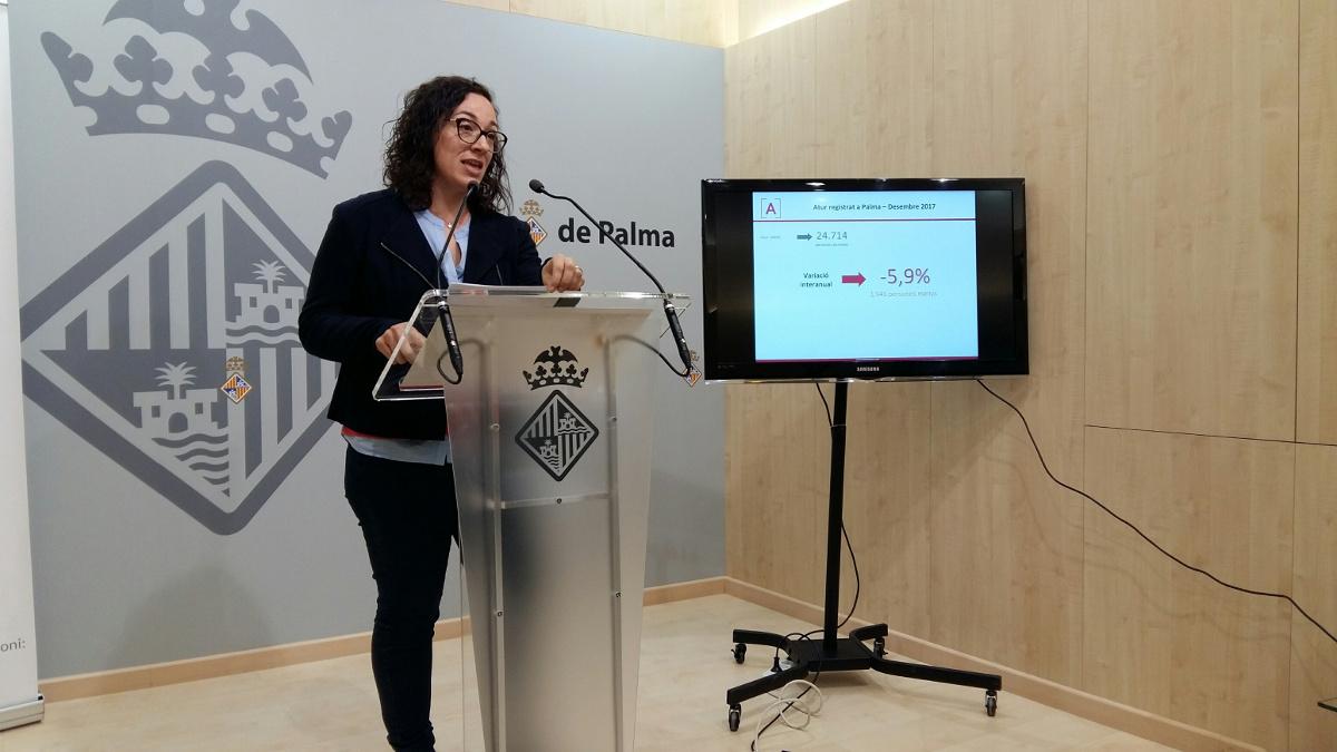 Sigue la evolución positiva del mercado de trabajo en Palma: la ocupación lleva 50 meses de crecimiento interanual y el paro 63 meses de descenso