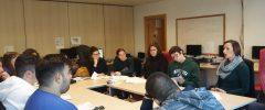 14 alumnos del grado en Educación Social de la UIB visitan la empresa Coordinadora Balear de persones amb Discapacita
