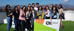 16 jóvenes del CFGS Gestión administrativa del IES Guillem Sagrera visitan la empresa OK Group