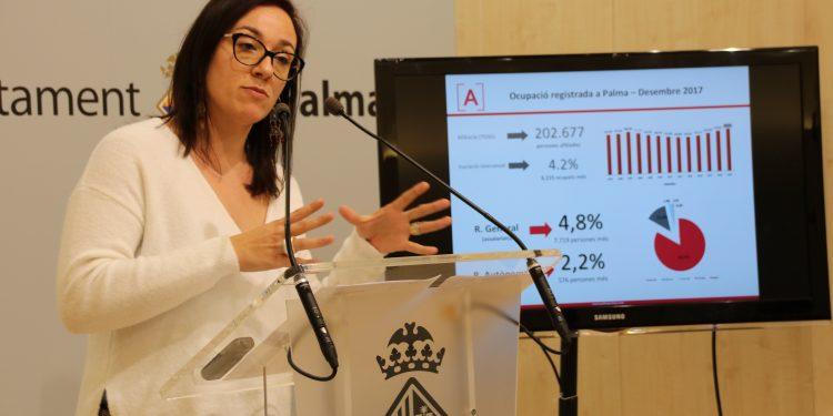 Palma va registrar el mes de gener 15.000 contractes laborals