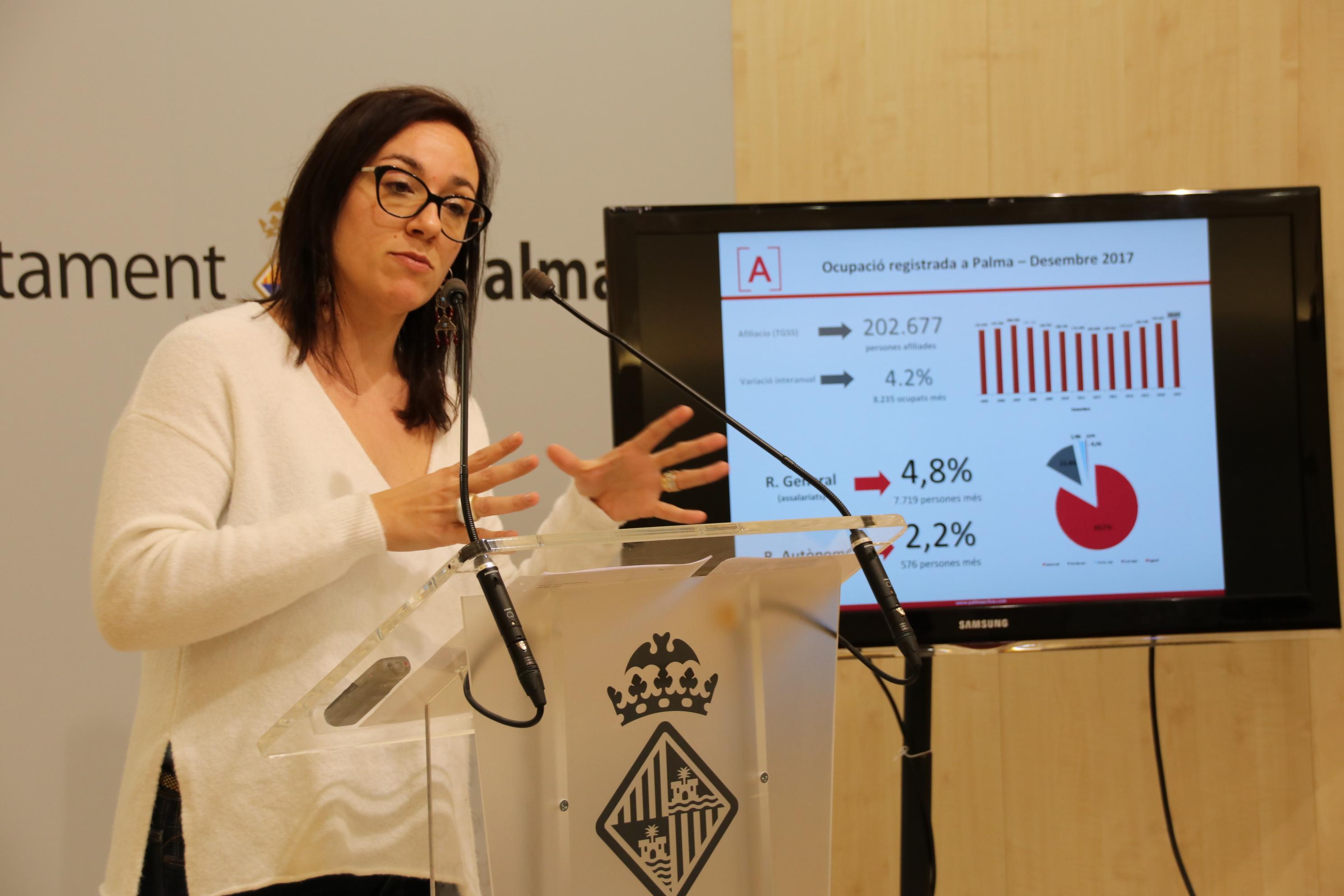 Palma registró en enero 15.000 contratos laborales