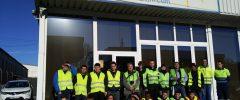 IES Son Pacs 18 participantes del CFGM Instalaciones eléctricas y automáticas visitan la empresa PALMALLUM