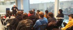 19 jóvenes del CFGM Electricidad y automatismos del IES Son Pacs visitan la empresa URBIA Services