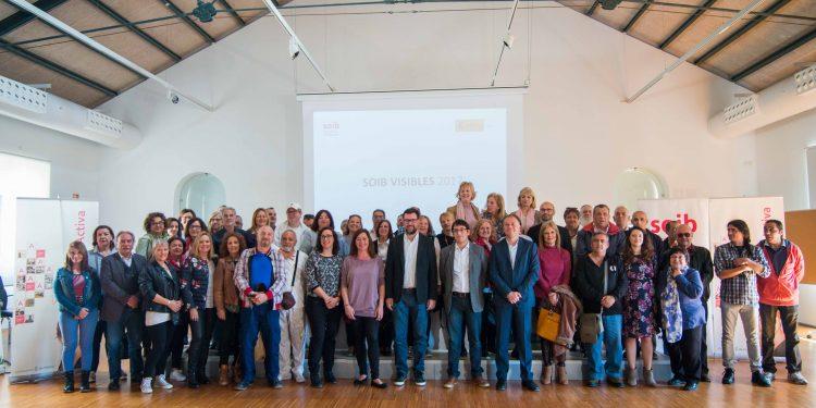 PalmaActiva acull l'acte de cloenda del programa SOIB Visibles 2017, mitjançant el qual s'han contractat 57 persones aturades que han fet feina durant mig any a l'Ajuntament