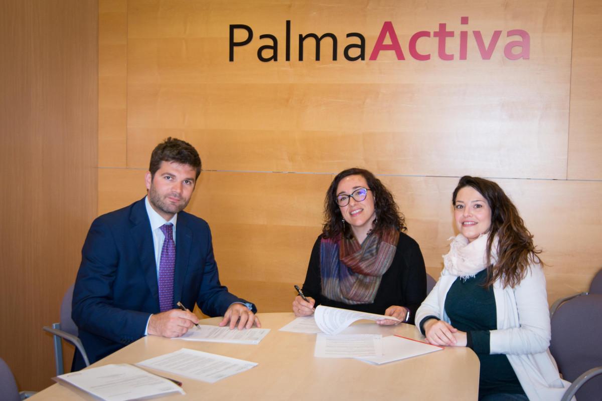 Acuerdo entre PalmaActiva y la delegación en Baleares de la Cámara de Comercio Italiana Barcelona