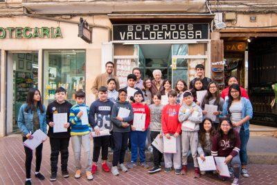 """El projecte """"Comerç i escola"""" de PalmaActiva apropa comerços emblemàtics de Palma a l'alumnat del col·legi Sant Felip Neri"""