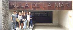 4 joves del Grau de Biologia de la UIB han visitat l'empresa: Aula de la Mar