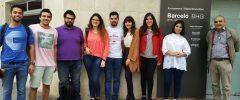 7 joves del Grau de Telemàtica de l'Escola Politècnica Superior (UIB) visiten Barceló Group