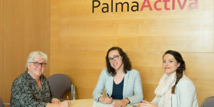 Conveni de col·laboració entre PalmaActiva i  REAS