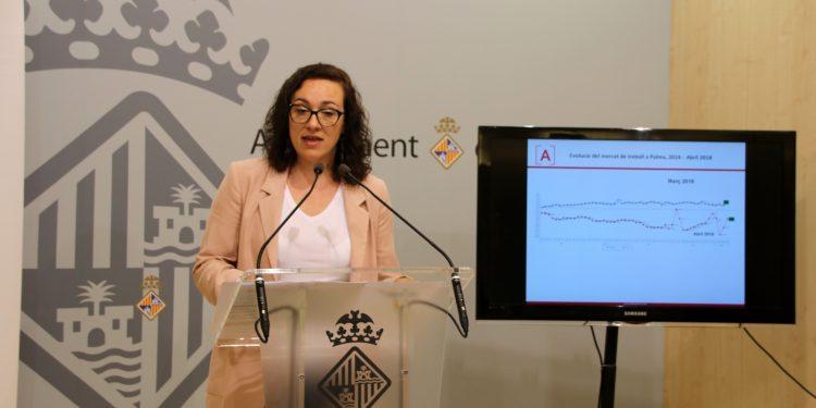 L'ocupació arriba a Palma a xifres d'abans de la crisi
