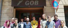 10 estudiants de Grau de Biologia de la UIB visiten el GOB