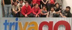 25 alumnos + 3 docentes del Grado Informática y Grado de matemáticas (UIB), CFGS Desarrollo de Aplicaciones Multiplataforma – DAM (CIDE) y Programa SOIB 30 «Palma Micromachine III» (PalmaActiva) visitan la empresa TRIVAGO
