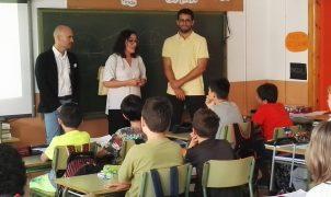 """El alumnado del colegio Son Canals conoce el pequeño comercio gracias al proyecto """"Comercio y escuela"""" de PalmaActiva"""