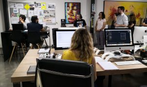 El batle visita l'empresa Cut&Go, guanyadora del concurs de millors projectes empresarials de PalmaActiva