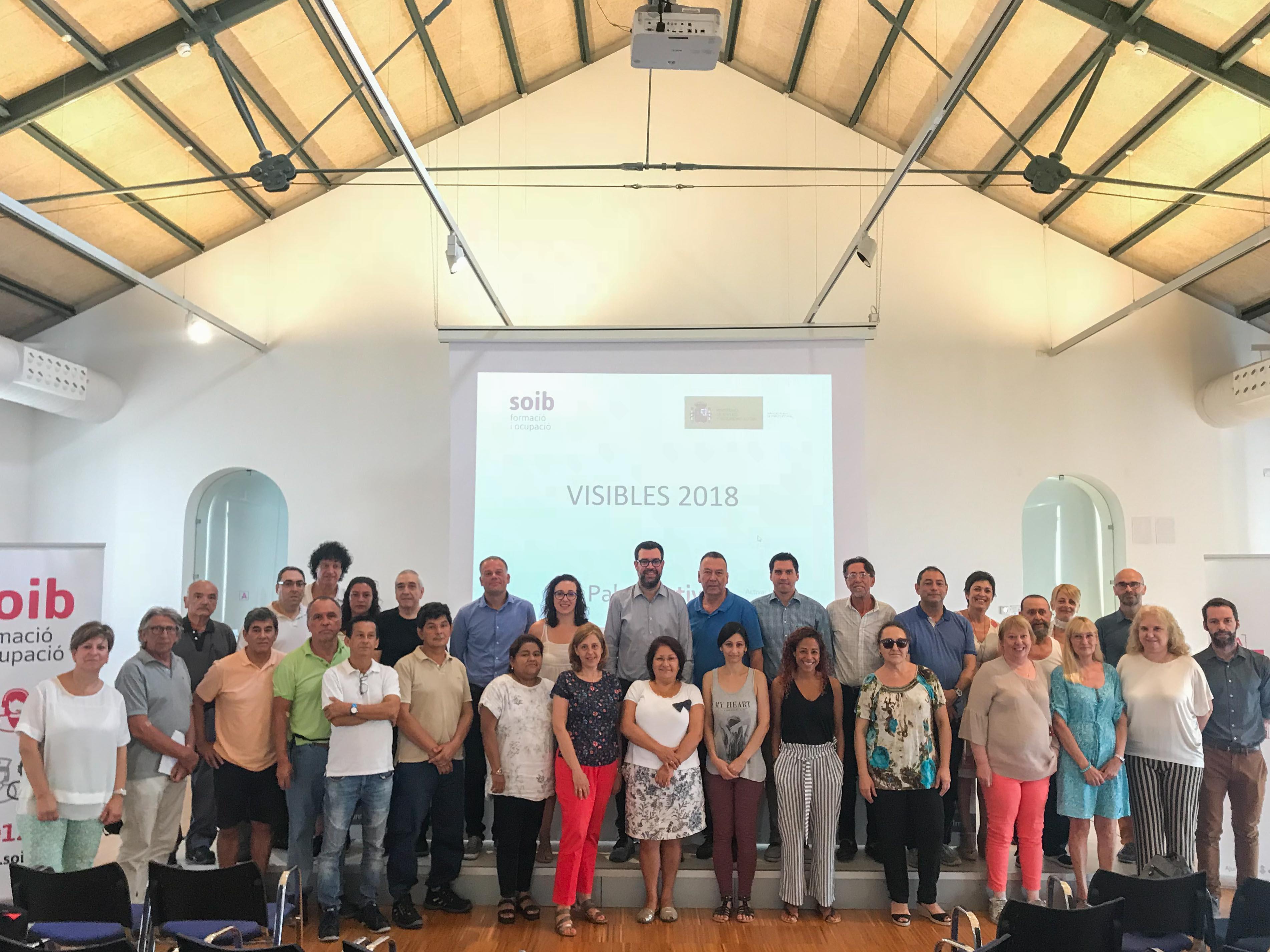 PalmaActiva contracta 73 persones mitjançant el programa SOIB Visibles 2018