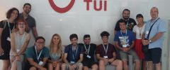 10 alumnes de Programa mixt Palma WEB II visiten empresa TUI