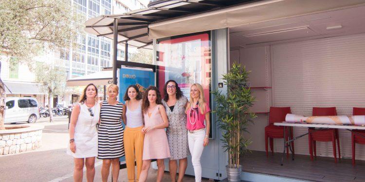 Vuit dones emprenedores al Quiosc de PalmaActiva