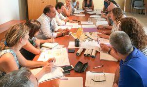 Reunión del Consejo Municipal de Comercio