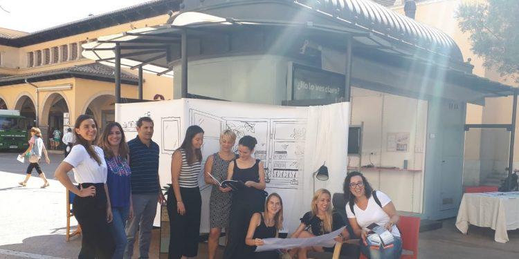 Buena acogida de las actividades realizadas por mujeres emprendedoras en el Quiosco de PalmaActiva