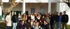 27 jóvenes del CFGM «Atención a personas en situación de dependencia» del Colegio La Salle Palma han visitado el Hospital Joan March (Caubet)