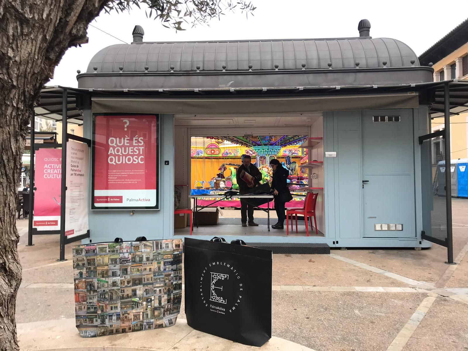 Bosses de compra de PalmaActiva per donar suport al petit comerç
