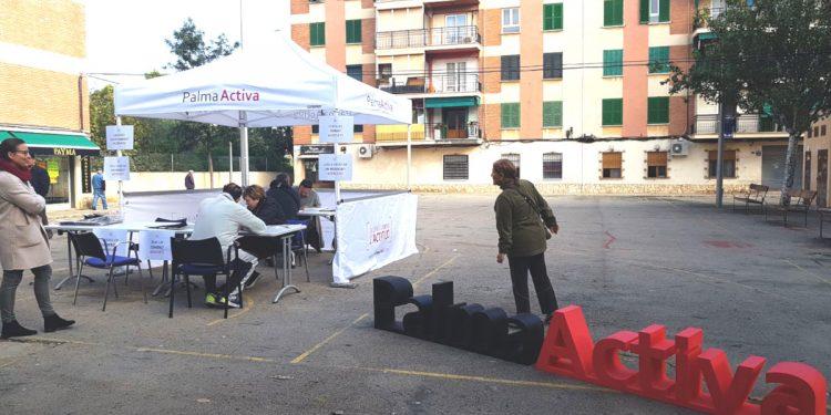 PalmaActiva s'apropa a Son Cladera per promocionar els seus serveis