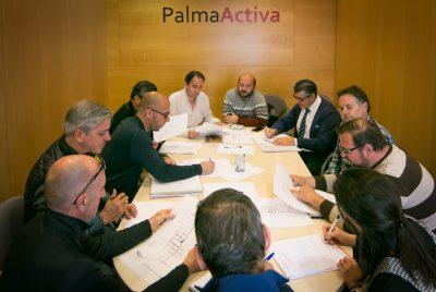 Reunión preparatoria en PalmaActiva de la XXVII Feria de Son Ferriol