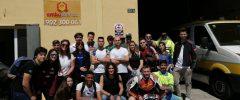 21 jóvenes del CFGM «Técnico de emergencias sanitarias» (+2 docentes) de Cruz Roja Palma visitan AMBUIBERICA