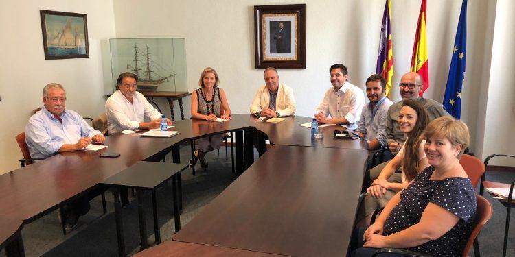 Primera reunió del Regidor de Promoció Econòmica i Ocupació amb la Cambra de Comerç de Mallorca