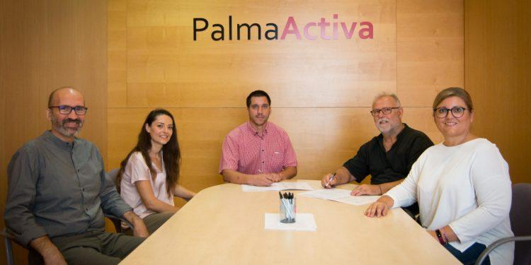 PalmaActiva i ASPROM signen un protocol de col·laboració
